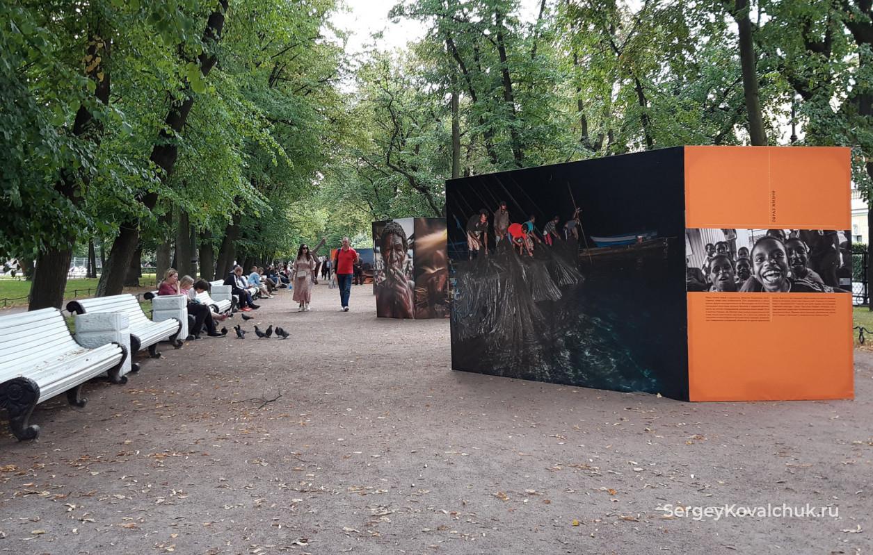 Выставка «Индонезия. Территория вековых традиций» в Александровском саду  Санкт-Петербурга