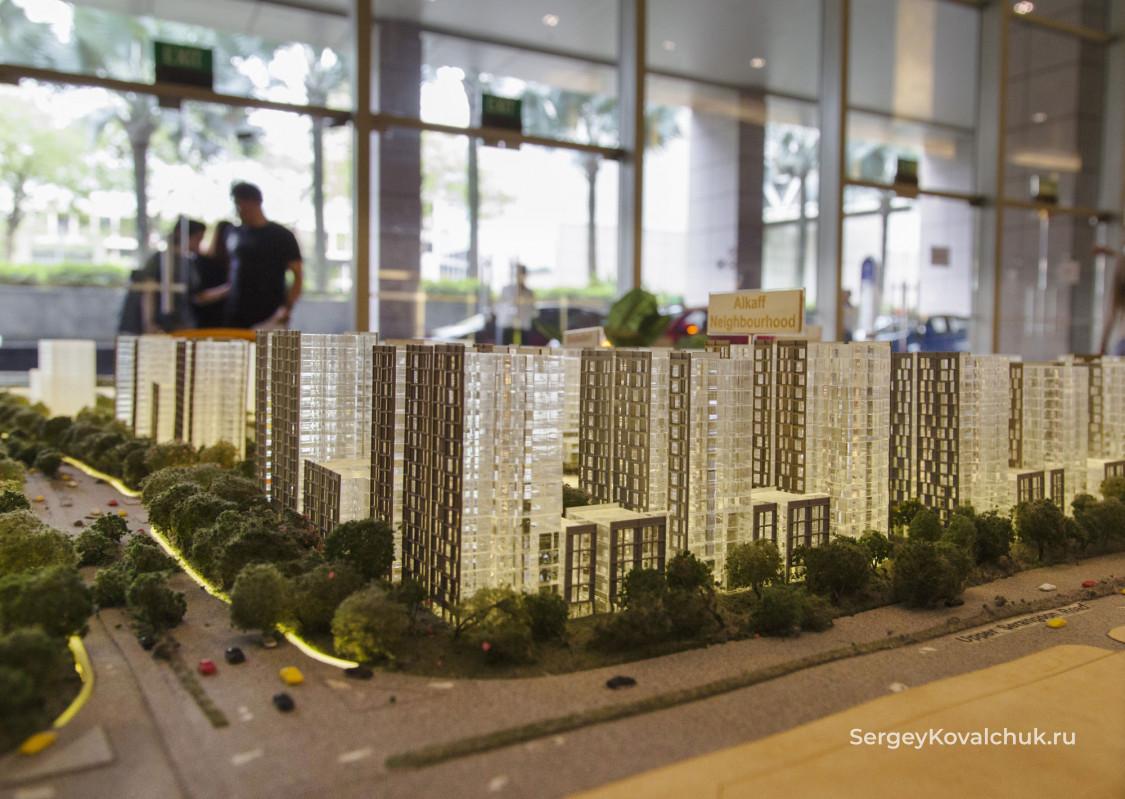 Жилищное строительство Сингапура