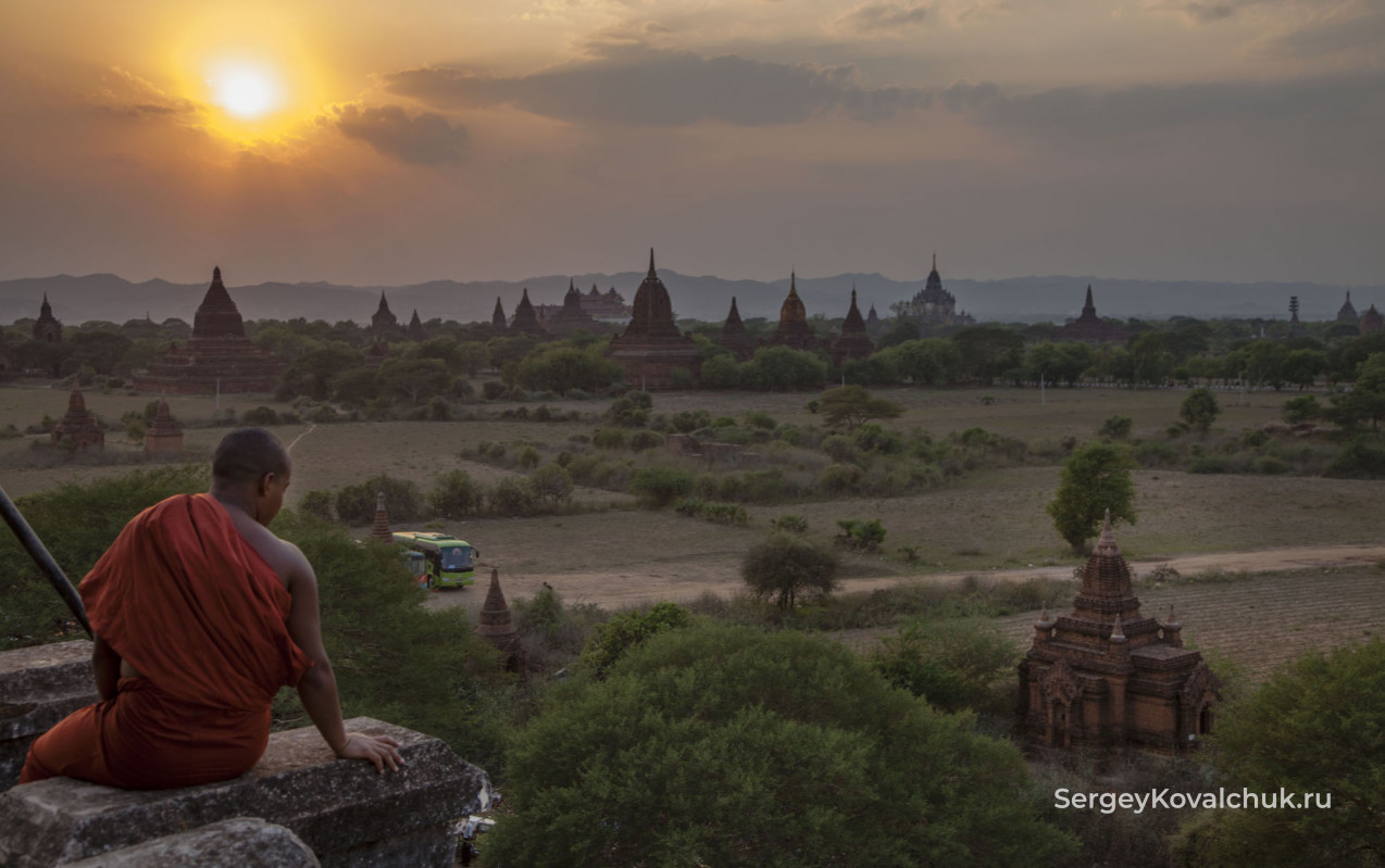 Верхняя Мьянма. Баган