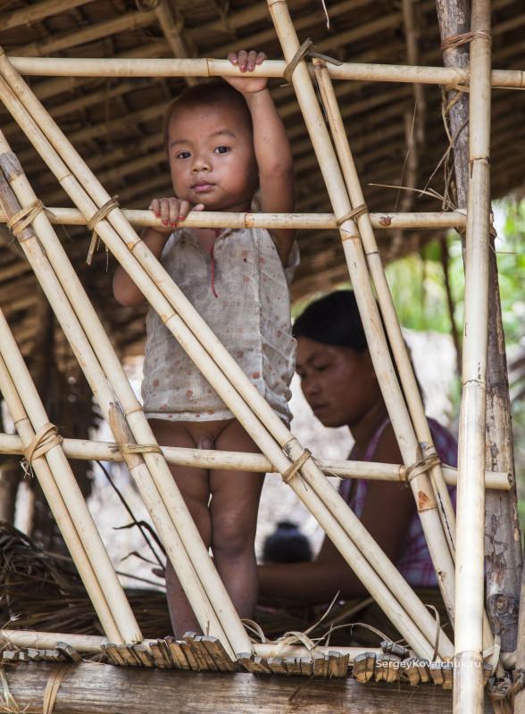 Мьянма. Штат Чин